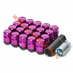 Комплект гаек M07R M12X1.25 PURPLE ,  16+4+3 set